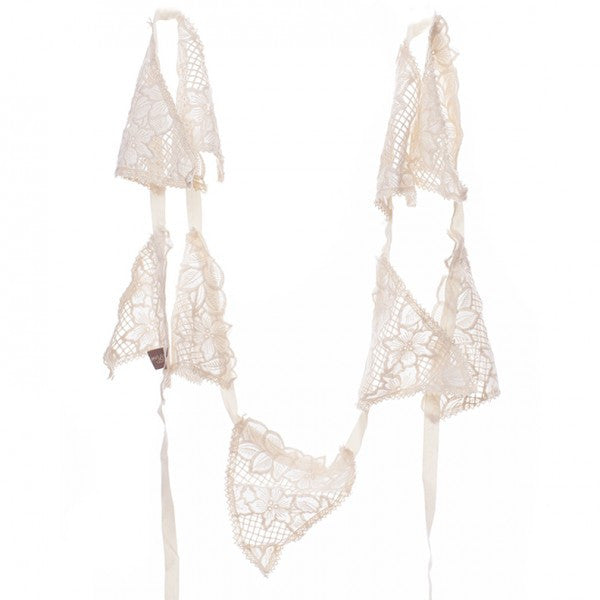 Lace Wedding bunting