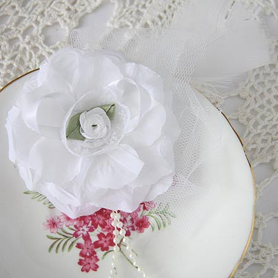 Baby & Girl Flower Fascinator Hair Clip - Clip03