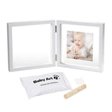 Baby Art My Baby Style Transparent with Clay Fotoramme med gipsavtryyk