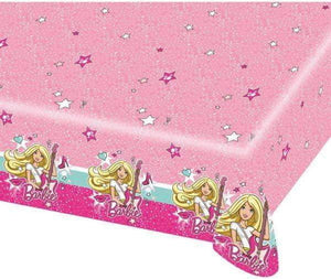 Barbie Bursdagsduk - 120x180 cm - Shop4kids.no