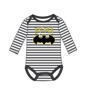 Batman Baby Body- Hvit