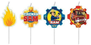 Brannmann Sam Hero Figurkakelys  4 stk - Shop4kids.no