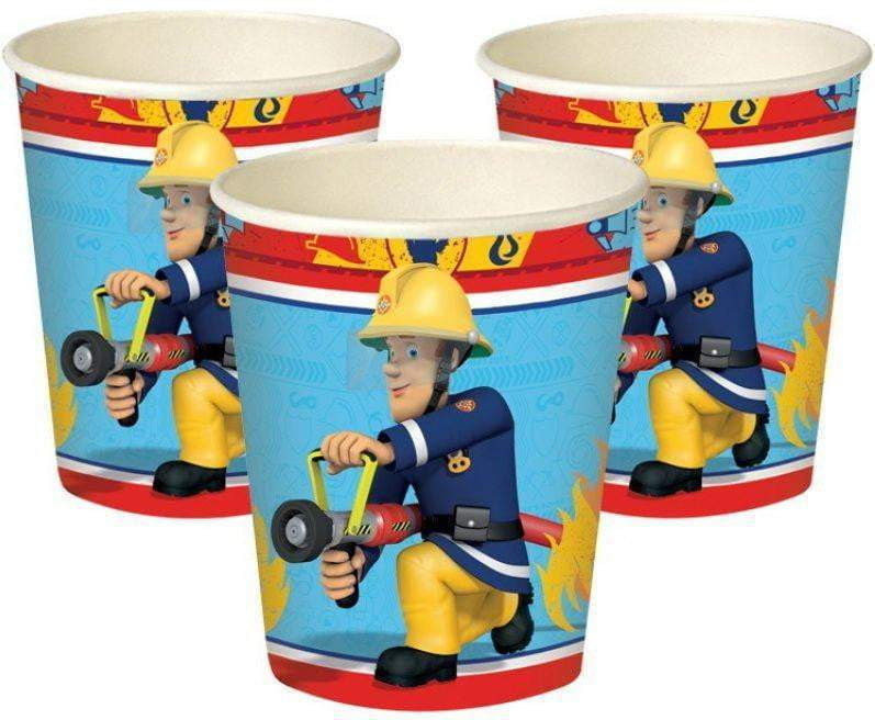 Brannmann Sam Kopper 8 stk -250ml - Shop4kids.no