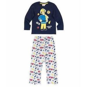 Brannmann Sam Pysjamas, Navy - Shop4kids.no