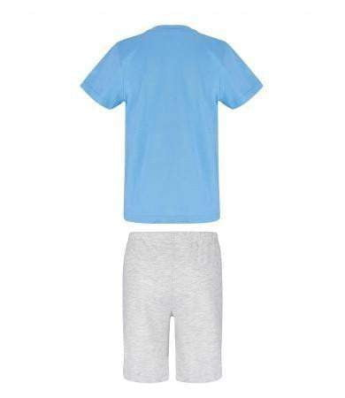 Brannmann Sam T-skjorte og Shorts, Blå - Shop4kids.no
