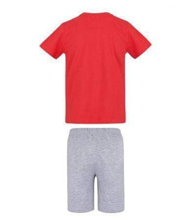 Brannmann Sam T-skjorte og Shorts, Rød - Shop4kids.no