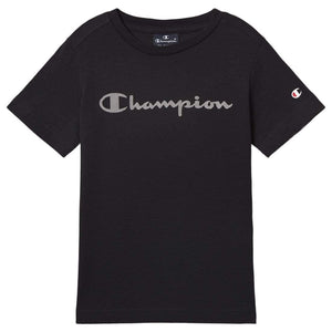 Champion Crewneck Jente T-skjorte - Black Beauty