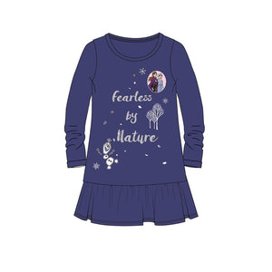 "Disney Frost ""Fearless by nature"" Kjole - Navy"