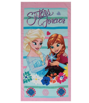 "Disney Frost ""Sisters forever"" Håndkle - Shop4kids.no"