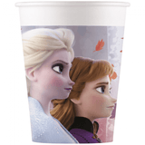 Disney Frozen 2 Pappkopper 8 stk - 200ml