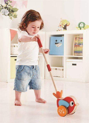 Hape Push Pull Lilly Bird