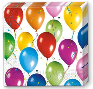 Balloons Fiesta Servietter - 20 stk - Shop4kids.no