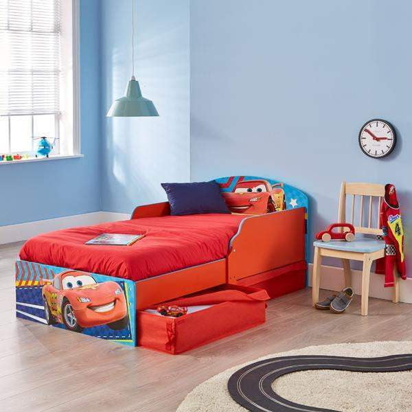 Disney Cars Junior Barneseng med oppbevaring - Shop4kids.no