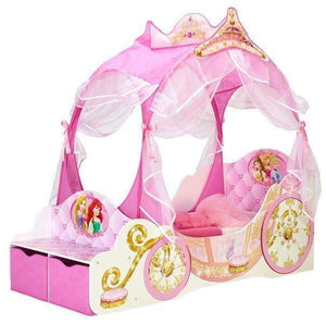 Disney Prinsesse Junior Barneseng med oppbevaring - Shop4kids.no