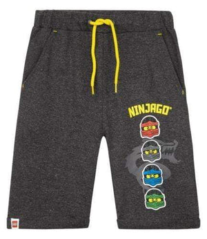 Shorts LEGO Ninjago Sweatshorts - Dark Grey