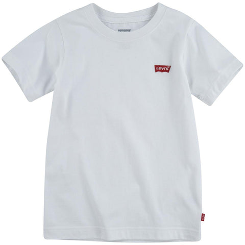 Levis Kids CHEST HIT T-skjorte - White