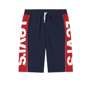 Levis KNIT JOGGER LOGO Short - Dress Blues