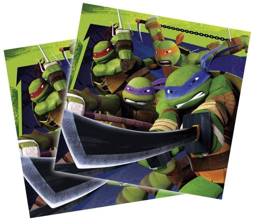 Ninja Turtles Servietter - 20 stk