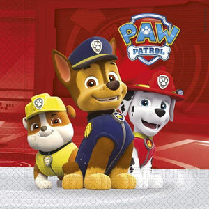 Paw Patrol Ready for Action Servietter - 20 stk