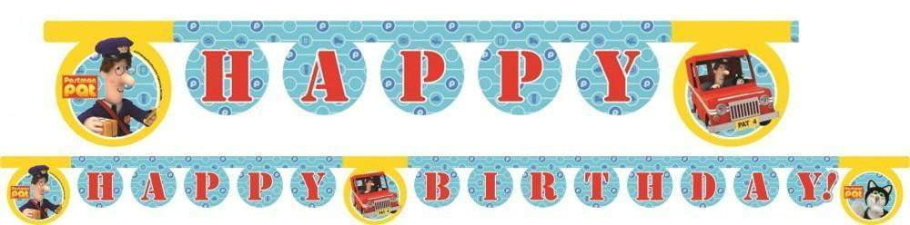 Postmann Pat HAPPY BIRTHDAY Banner - 210cm