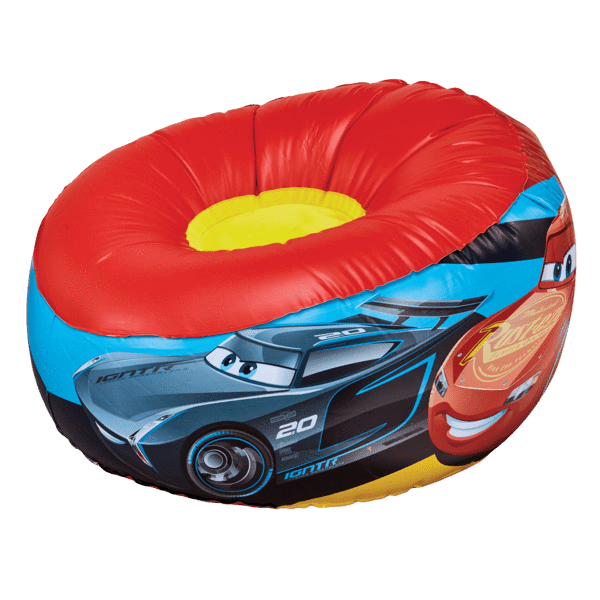 Disney Pixar Cars Oppblåsbar Stol - Shop4kids.no