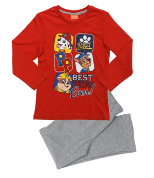 "Pysjamas Paw Patrol "" Best Pups Ever"" Pysjamas - Red"