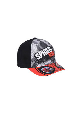 Spiderman Caps - Black