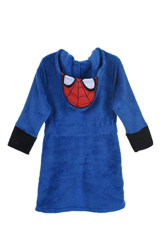 Spiderman Coral fleece Badekåpe - Blue