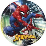 Spiderman Team up Papptallerkener 23cm - 8 stk