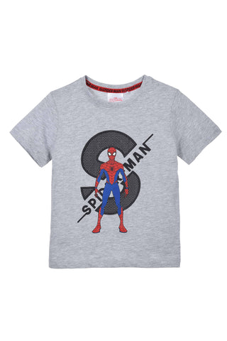 T-shirt Spiderman Hero SS T-skjorte - Grey