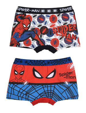 Underwear Spiderman Boxers Black - 2 pack