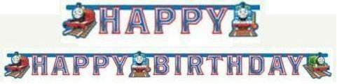 Thomas Toget Happy Birthday Banner - 180cm