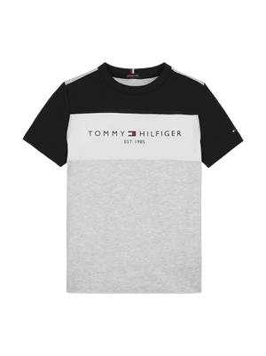 Tommy Hilfiger ESSENTIAL COLORBLOCK T-skjorte - Grey