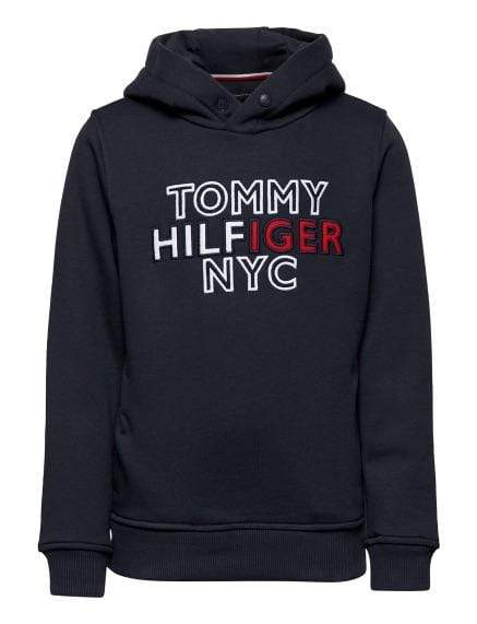 Tommy Hilfiger NYC Graphic Hettegener - Navy
