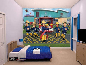 Branmann Sam Wall Mural - 12 Paneler - Shop4kids.no