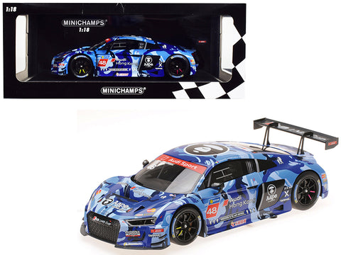 Audi R8 LMS #48 Edoardo Mortara Winner Audi R8 LMS Cup 2016 Sepang Race 2 (Aape / Phoenix Racing Asia) Limited Edition to 300 pieces Worldwide 1/18 Diecast Model Car by Minichamps