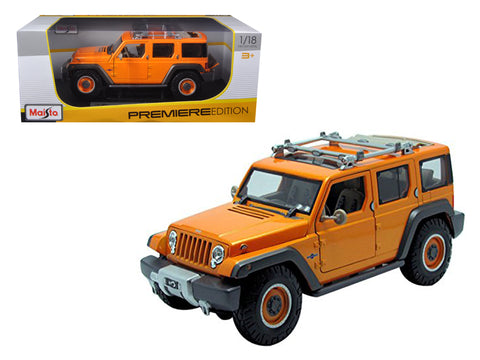 Jeep Rescue Concept Orange 1/18 Diecast Model Car by Maisto