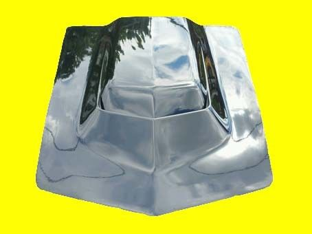 Fits: Chevrolet Chevy Corvette C3 '68-'72 L-88  Hood (no air box) NEW