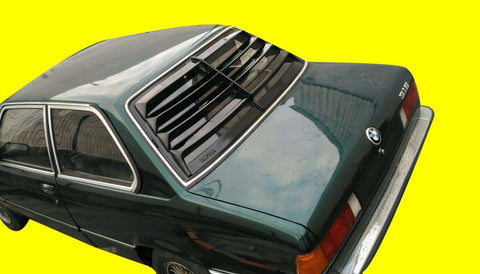 Fits: BMW E21 LOUVER - Alpina Fiber Glass
