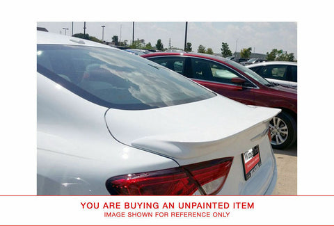 Unpainted Rear FRP Spoiler No Light for CHRYSLER 200 (LARGE) 2015 & UP LIP