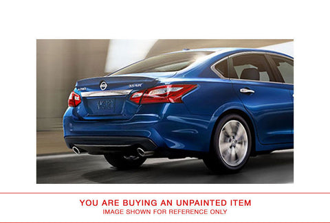 "Unpainted Rear Spoiler For NISSAN ALTIMA 4-DR SEDAN ""SR-STYLE"" 2016 & UP LIP"