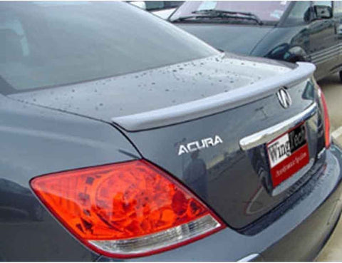 Painted Factory Style Spoiler for ACURA RL 2005-2008 LIP FIBERGLASS Pre-Drilled