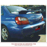 Unpainted Factory Style Spoiler CLR LIGHT SUBARU IMPREZA WRX 2002-2007 POST