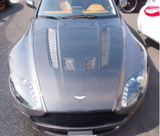 For Aston Martin Vantage V8 Carbon Fiber Hood / Bonnet V12 look