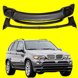 FITS BMW X5 E53 4.8 FRONT SPOILER AND REAR SPOILER 2000-2006
