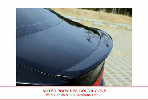 Painted Factory Style Rear FRP Spoiler for HYUNDAI AZERA 2013 & UP LIP