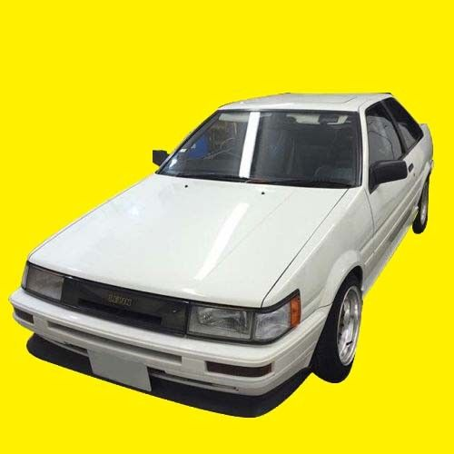 DUCK TAIL STYLE REAR WING SPOILER FIX FITS: COROLLA AE85 AE86 SR5 LEVIN  COUPE