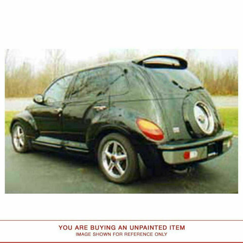 Unpainted Factory Style Spoiler for CHRYSLER PT CRUISER 2001-2005 ROOF NO LIGHT