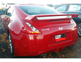 Painted Factory Style Spoiler NO LIGHT RACING STYLE NISSAN 370Z COUPE 2009 & UP