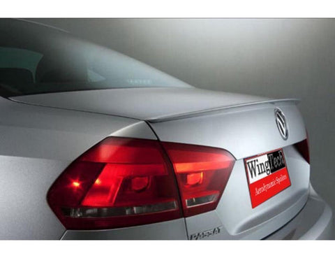 Painted Factory Style Spoiler for VOLKSWAGEN PASSAT 2012 & UP LIP NO DRILL